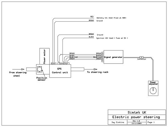 Electic PAS Schematic