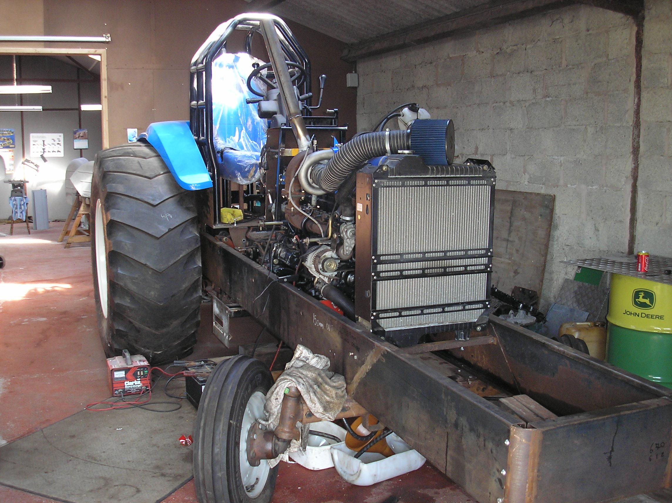 Bad Medicine Tractor Puller